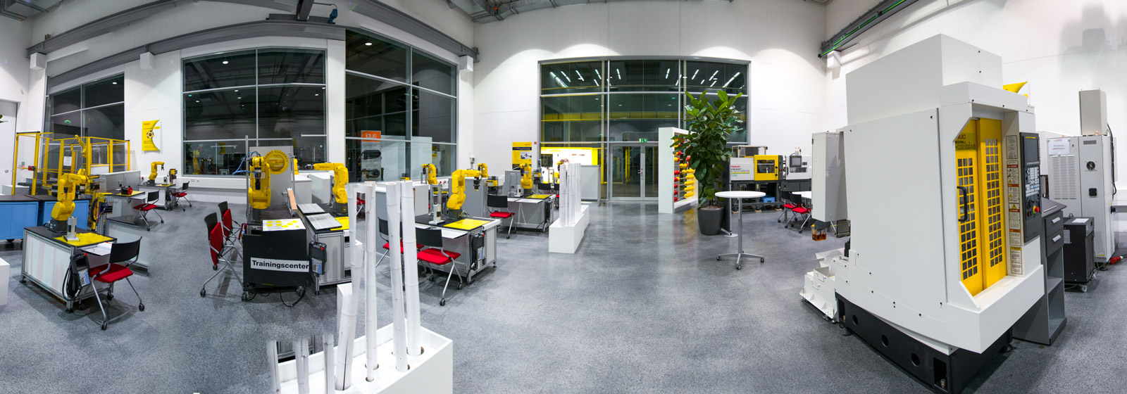 FANUC training facility