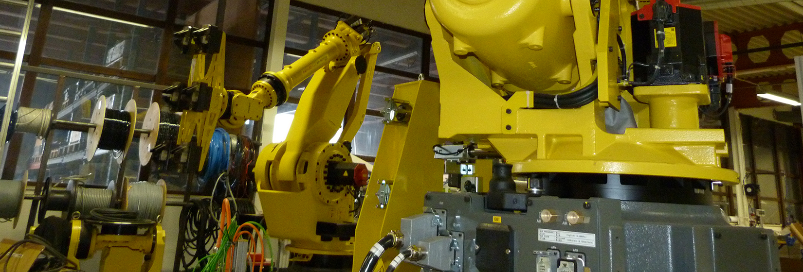 FANUC R-2000 and M-900 series ROBOTs
