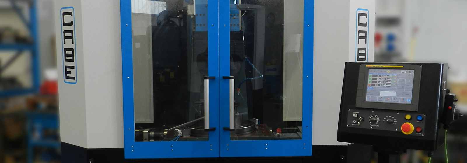 Cabe slotting machine