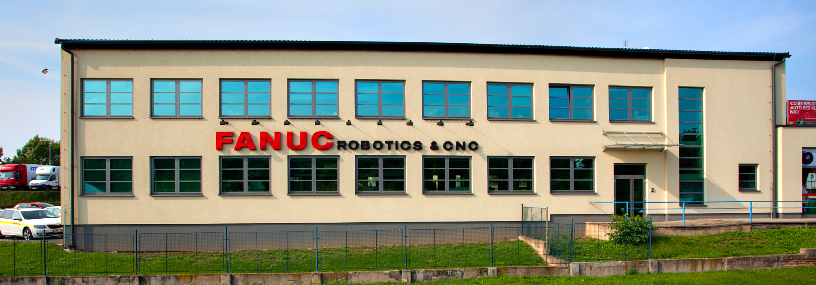 FANUC Czech building