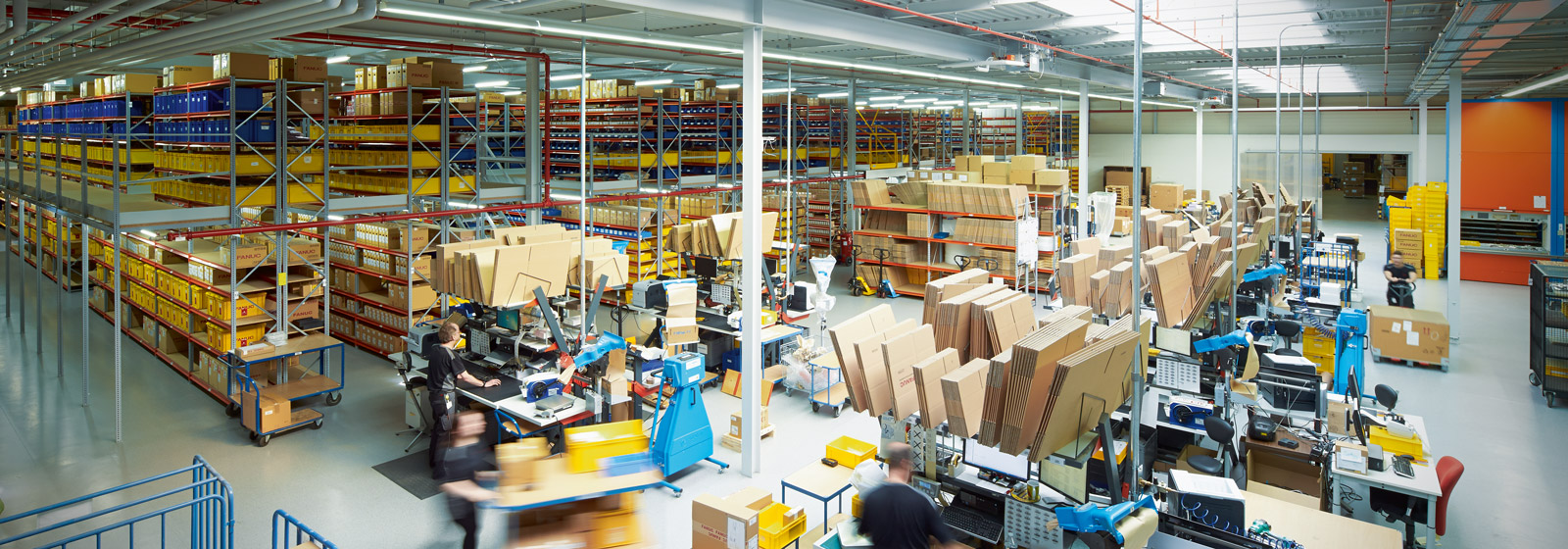 FANUC parts warehouse