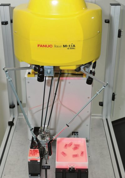 FANUC robot with Asyril Feeder: highly flexible supply of