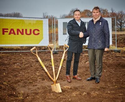 FANUC Nordic ground breaking in Malmö