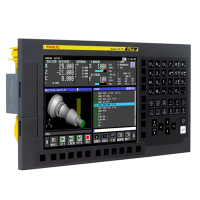 FANUC Controller 0i-F Plus with horizontal LCD