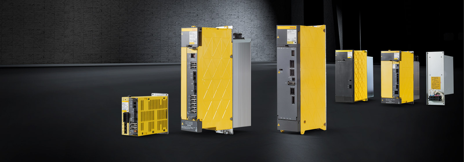 Range overview of FANUC amplifiers