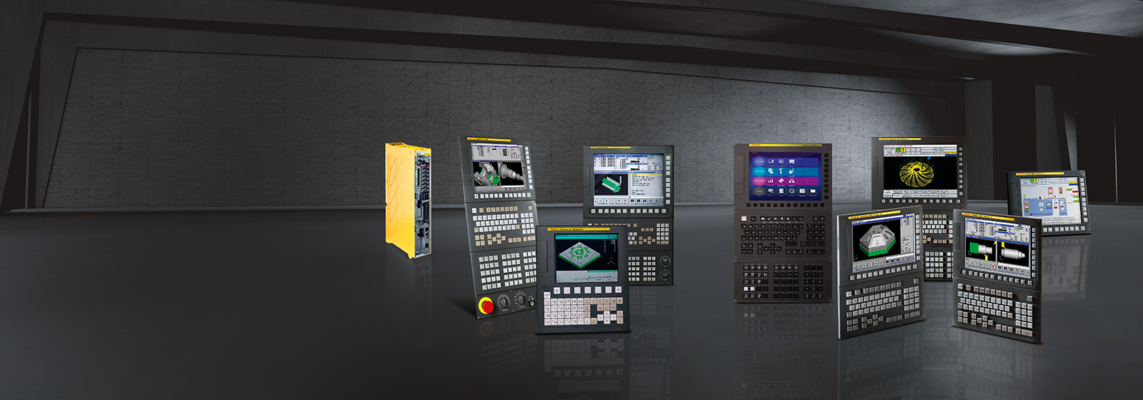 Fanuc Cnc Control Series For Every Application Controller Motion Schematics Rev D