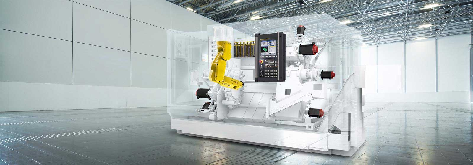 CNC ghost machine with FANUC products