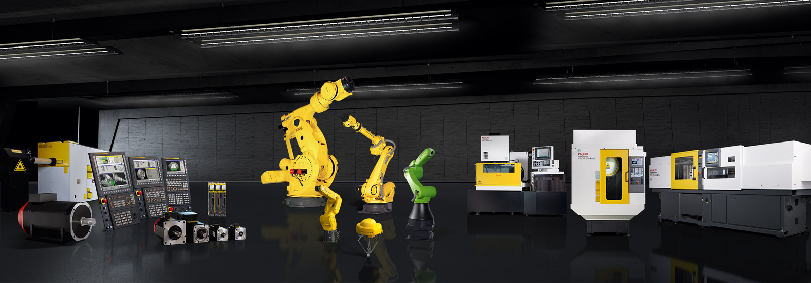 Header picture showing the FANUC Range