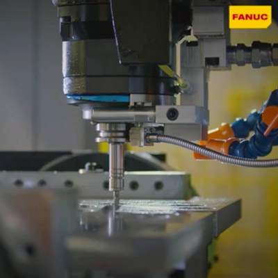 High-speed milling and drilling with FANUC's ROBODRILL