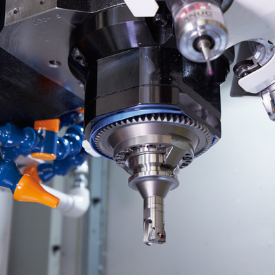 High-speed drilling, boring and tapping with outstanding accuracy