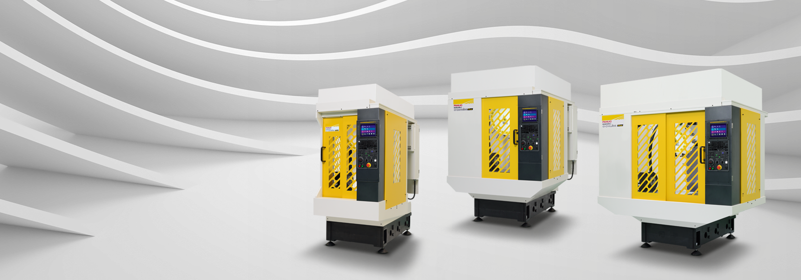 FANUC ROBODRILL vertical machining centres series