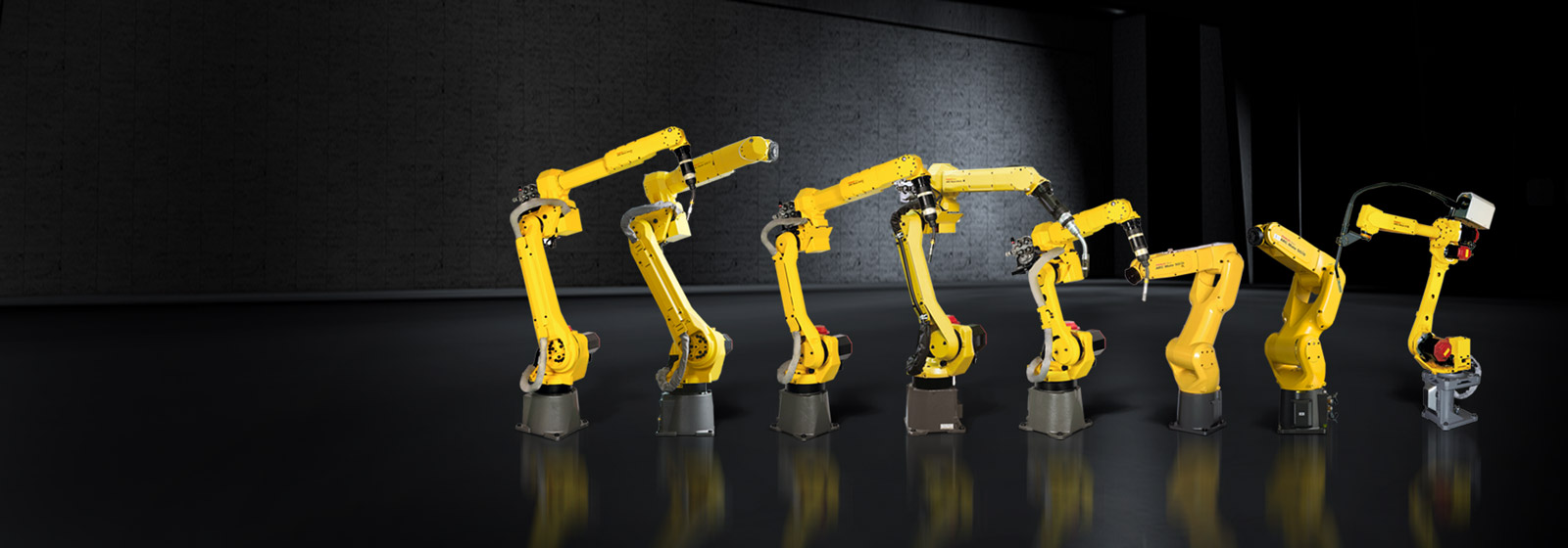 Fanuc Arc Welding Robots Components Together With Brazing And Variety Of Gas