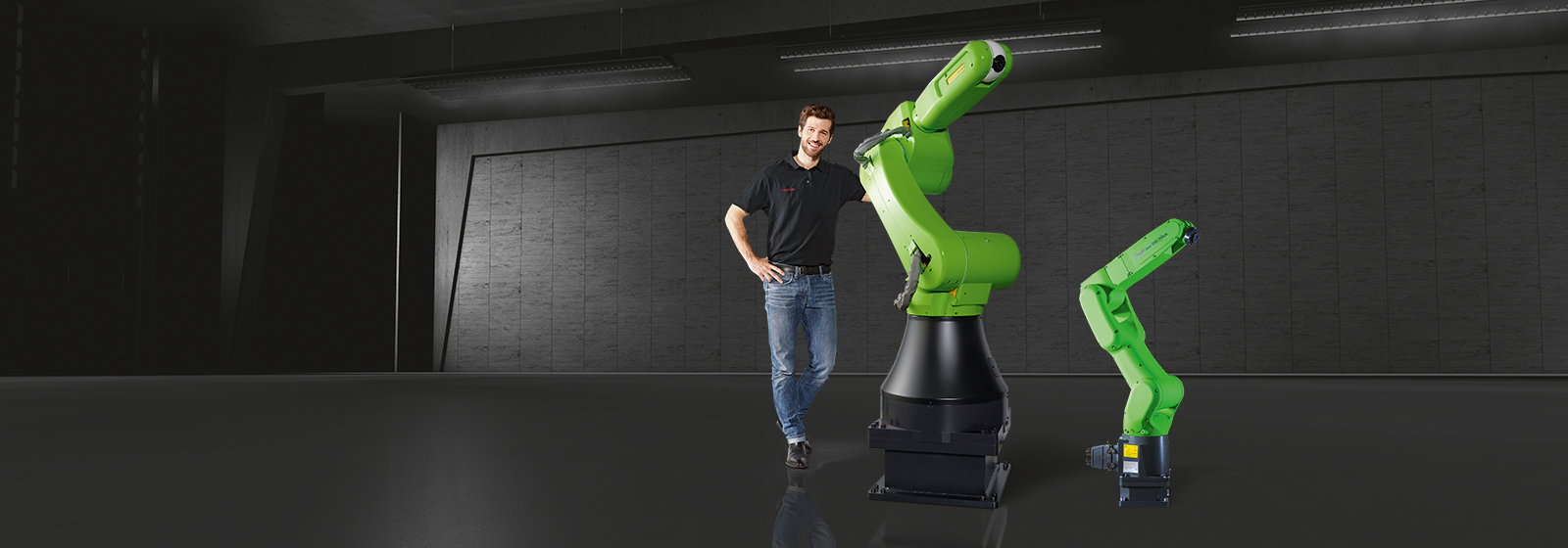 Humans collaborating with Robots