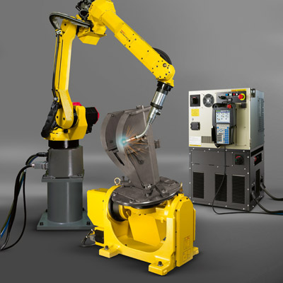 FANUC Arc Mate 120iC industrial Robot on