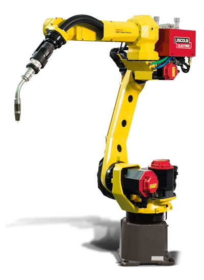 Fanuc arc mate 100ic industrial robot for Ge motors and industrial systems