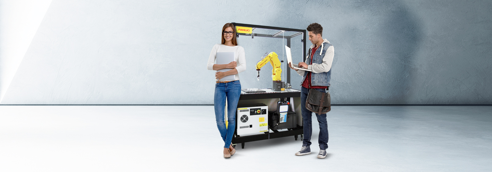 FANUC educational cell