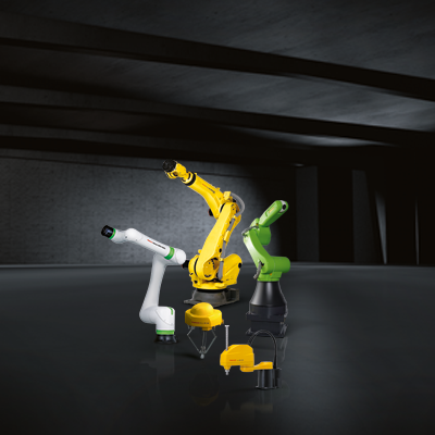 Robots from the FANUC range