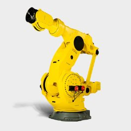 view on the new FANUC m-2000-2300 robot