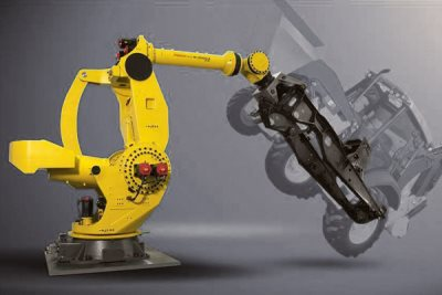 M-2000 - the strongest heavy duty industrial robot in the market