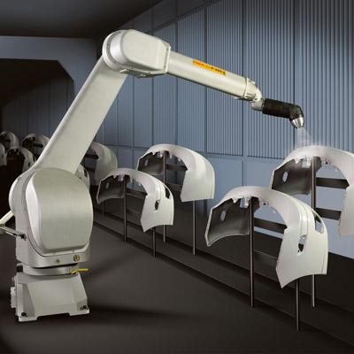 Robot per la verniciatura - automazione robot industriale a assi