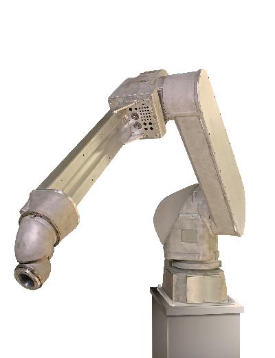 FANUC robot range overview